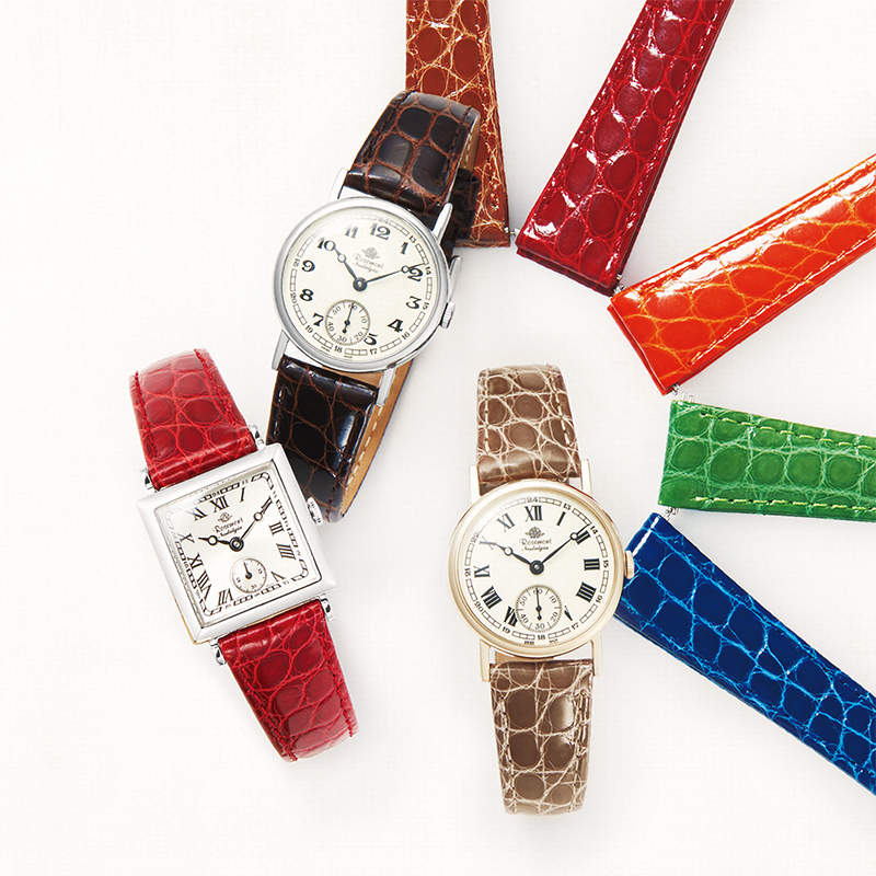 Buy a Rosemont Nostalgia Watch, and Get FREE Cow Leather Strap!