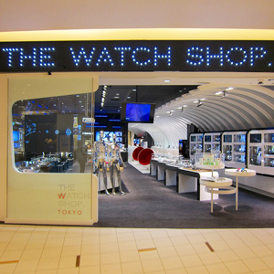 THE WATCH SHOP. @ DiverCity Tokyo Plaza
