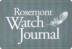 Rosemont Watch Journal